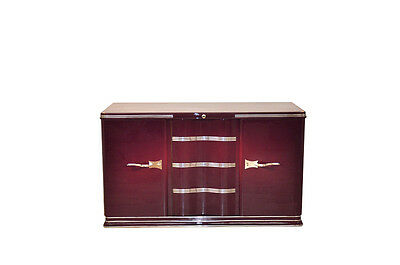 1930s Art Deco Sideboard with a Lilac Lacquer