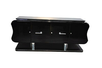 Curved Art Deco Credenza