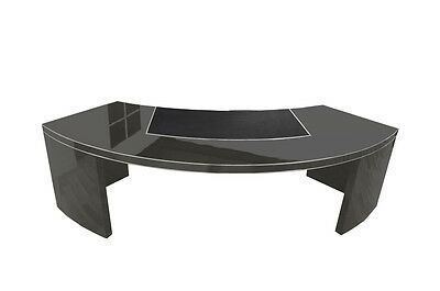 USA Bauhaus CEO-Desk XXL in Highgloss Grey