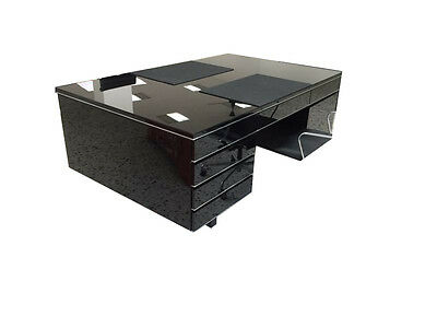 Unique Bauhaus Style Partner Desk Extra Large from England in 1955