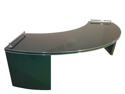 Racing Green Desk from the Art Deco Era