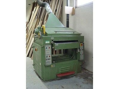 POLAMCO FORTIS DSMC63 wood thickness planer with sharpener industrial 24 inches