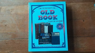 Huxford, Bob & Sharon Huxford HUXFORD'S OLD BOOK VALUE GUIDE, SIXTH EDITION  6th