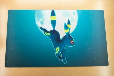 E319 FREE MAT BAG Pokemon Umbreon Trading Card Game Playmat TCG Mat Desk Mat