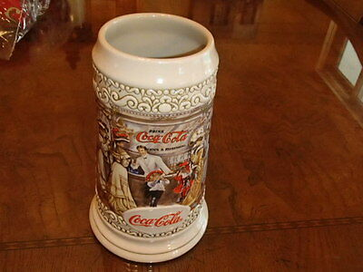 Coca-Cola Collectible Stein Numbered from Brazil no box ybe