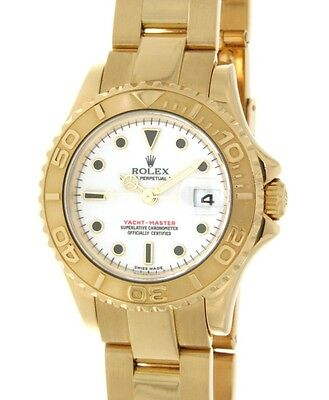 Rolex YACHT MASTER LADY 169628 YELLOW GOLD, 29MM 169628