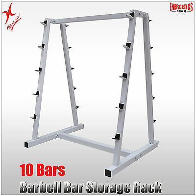 Barbell Bar Storage Rack - Home Gym Weight Storage Barbell Bar Weight Tree