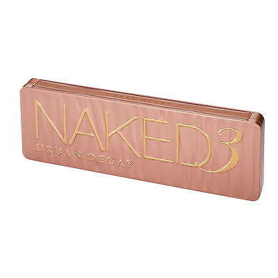 Naked 3 All Matte New Eyeshadow Palette Professional Makeup.