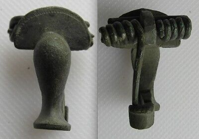 Roman Bronze Fibula Knee Brooch - Lot 1
