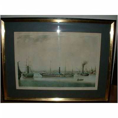 Rare Aquatint Of The Wilbeforce By R.g.reeve After J.ward