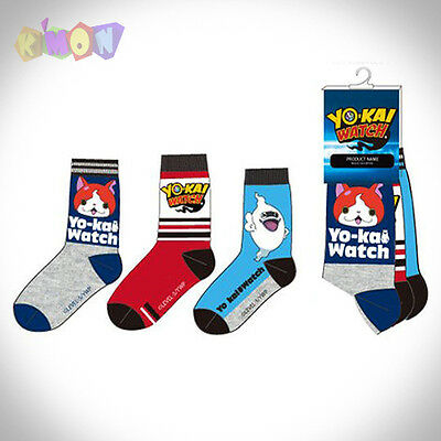 9355 -30   Pack 3 Calcetines de YO-KAI WATCH T 27/30