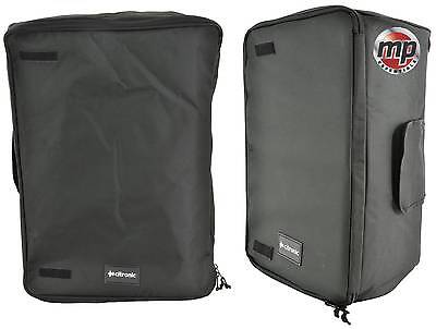 Citronic Music Padded Carry 10'' 12'' 15'' Speaker Cabinet Transit Cover Bags