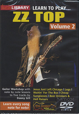 Learn To Play ZZ Top Volume 2 Lick Library DVD by Danny Gill