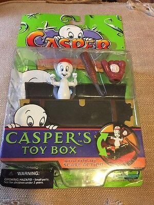 Casper the Friendly Ghost Caspers Toy Box Figure 1997 NIP