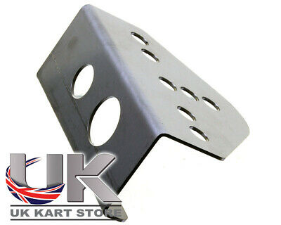 Senzo Switch Holder Stainless Steel Style Iame X30 Buttons Go Kart