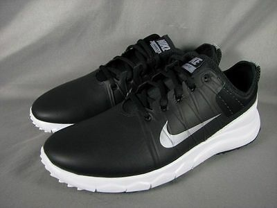 NIKE Womens FI Impact 2 Spikeless Waterproof Black/White Golf Shoes Size 7 & 7.5
