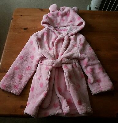 Baby Girls Dressing Gown 18 - 24 Months