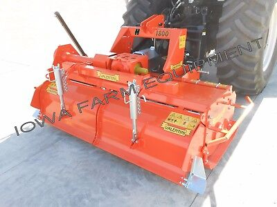 "Rotary Tiller Heavy Duty Valentini H2300 7'-9"", Tractor 3-Pt, PTO: 100HP Gearbox"