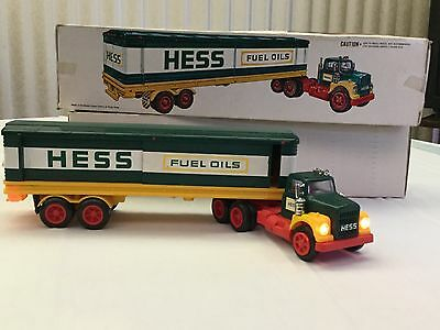 1976 Hess Box Truck Great Condition with Hess Barrels and Box