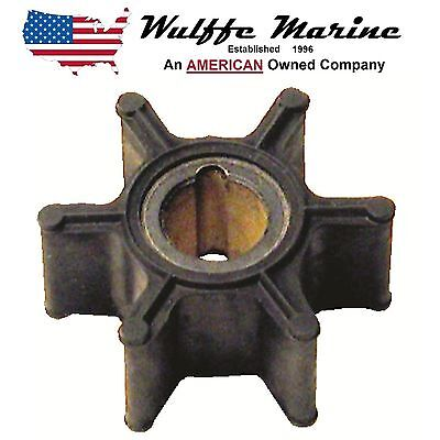 Water Pump Impeller for Johnson Evinrude 4, 4.5, 5, 6, 8 Hp Rplcs 18-3091 389576