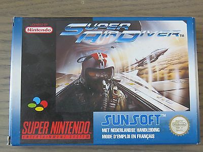 Jeu Super Nintendo Snes  Super Air Driver  Complet Fr