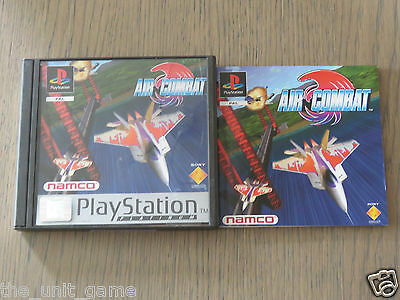 Jeu Playstation Ps1   Air Combat   Complet En Francais