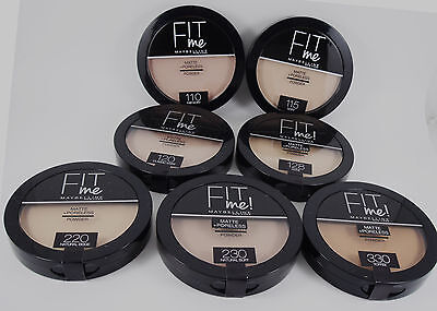 Maybelline Fit Me Matte + Poreless Pressed Powder - Choose Shade