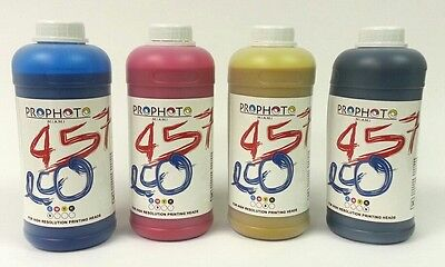 Eco solvent ink kit for dx5 dx4 dx7 heads Mutoh Roland Mimaki 4 liters CMYK