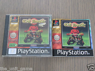 Jeu Playstation Ps1  The Hunter  Complet En Francais