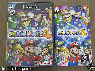 Jeu Nintendo Gamecube    Mario Party 4    Complet