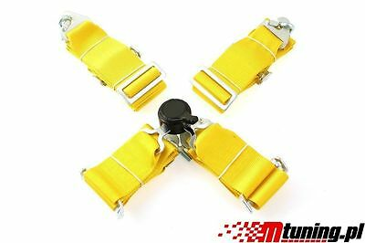 "It Sport Seat Belts Pp-Ps-045 Quick 4-Point 3"" Yellow"