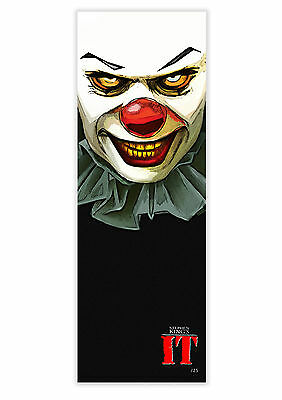 Stephen King's It Pennywise Movie Art Poster Print. Signed