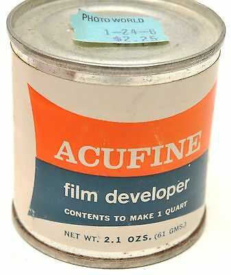 ACUFINE BW Film DEVELOPER to make 1 Quart