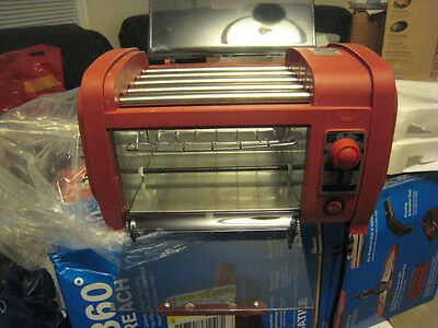 Hot Dog Roller Grill and Bun Warmer NEW L-HD506