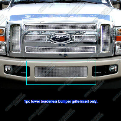 08-2010 Ford F-250/F-350/F-450/F-550 Stainless Steel Mesh Grille Grill Insert