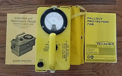 Prepper Cdv-717 Civil Defense  Radiation  Detection  Unit