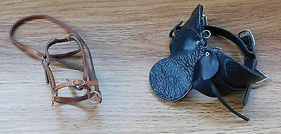 Breyer Horse Tack Lot - Stoneleigh Dressage Saddle and Bridle