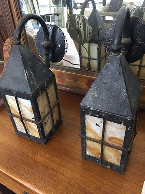 Spanish Revival Tudor Style Exterior Sconces Paul Williams