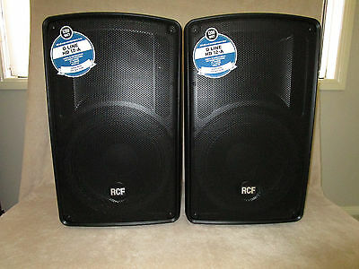 RCF HD 12A 2 x ( NEW ) 600W RMS Active 2 Way Speaker - powered - MADE IN ITALY
