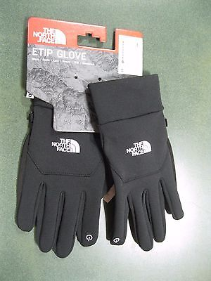 The North Face Unisex Etip Gloves - TNF Black - Large - #A7LN - NWT!