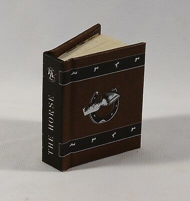 The Horse Miniature Book Joanne Bollenbacher 1996 Collectible
