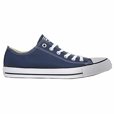 Converse All Star OX Low Top Shoes Navy Men's 9/ Women's 11