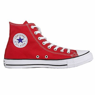 Converse Chuck Taylor All Star High Top Shoes Red Men's 9.5/ Women's 11.5