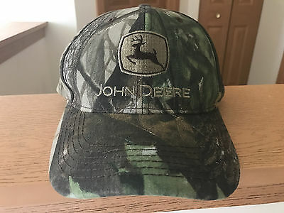 John Deere Camouflage Hat Cap Camo NWT New With Tags Snapback Westside Tractor