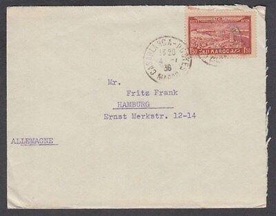 Morocco 1936 Cover To Germany (Id:649/d45112)