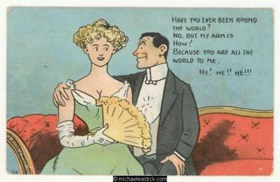 Romantic: Have you ever been round the world?