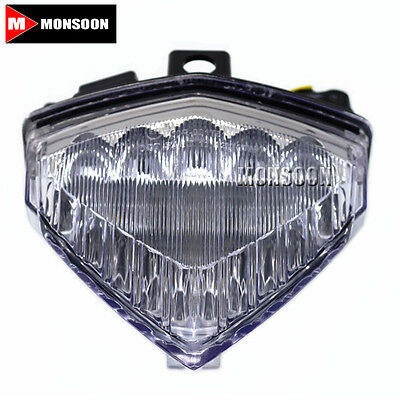 For HONDA CB1000R CBR600F CB500X Motorcycle Accessories LED Tail Light Clear