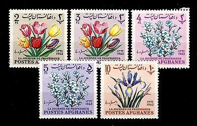 AFGHANISTAN - 1964 - Teachers Day issue - Mi.859A/63A Neufs/Mint **