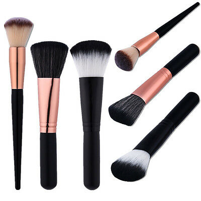 Pro Pinceau Brosse Maquillage Fard Joues Fond Teint Poudre Blush Visage Outils