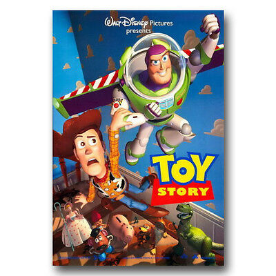 Toy Story Cartoon Funny Movie Silk Poster Home Wall Decor 13x20 24x36 X013